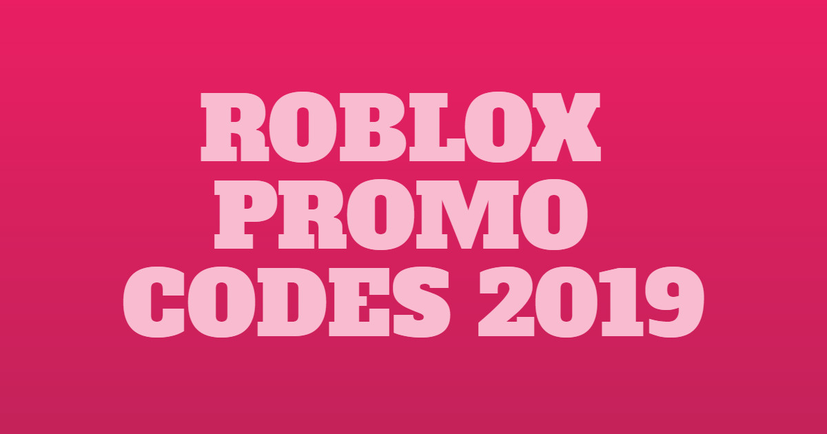Roblox Promo Codes Not Expired (SEP 2019) 100% Working!