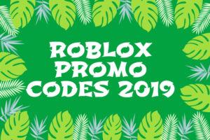 roblox promo codes 2019