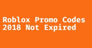 roblox promo codes 2019 not expired